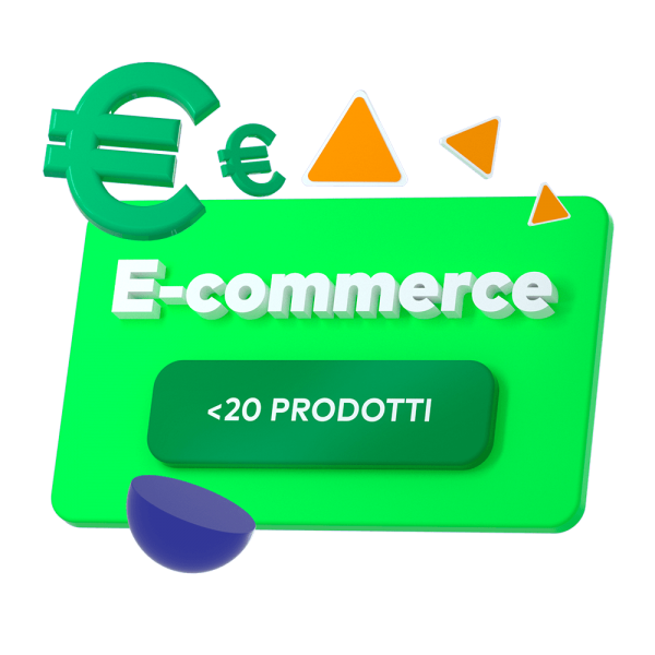 1 e-commerce <20 prodotti