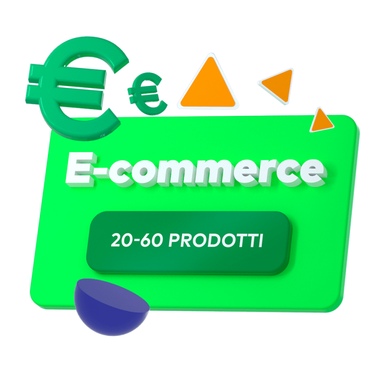 e-commerce 20-60 prodotti