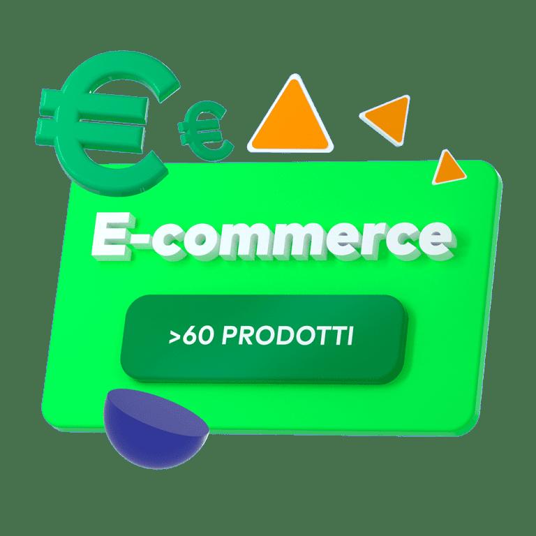 e-commerce >60 prodotti